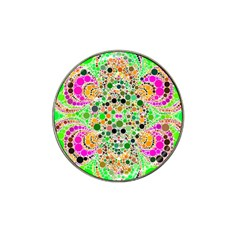 Florescent Abstract  Golf Ball Marker 4 Pack (for Hat Clip) by OCDesignss