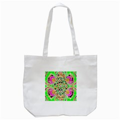 Florescent Abstract  Tote Bag (white) by OCDesignss