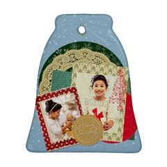 Xmas By Xmas4   Bell Ornament (two Sides)   J929p2jgh54p   Www Artscow Com Front