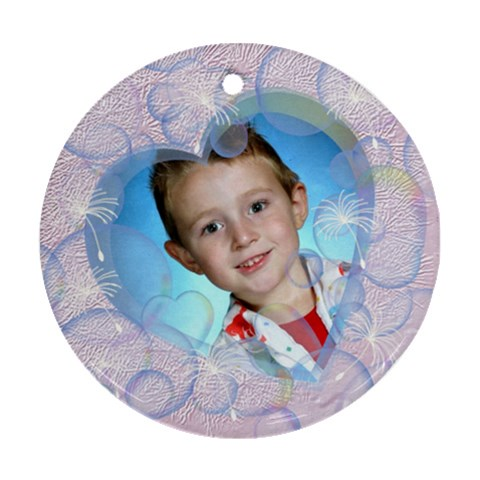 Bubble Ornament Round By Chere s Creations   Ornament (round)   3fm3wcsurad7   Www Artscow Com Front