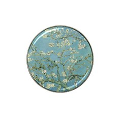 Vincent Van Gogh, Almond Blossom Golf Ball Marker 4 Pack (for Hat Clip) by Oldmasters