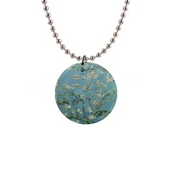 Vincent Van Gogh, Almond Blossom Button Necklace by Oldmasters