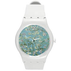 Vincent Van Gogh, Almond Blossom Plastic Sport Watch (medium) by Oldmasters