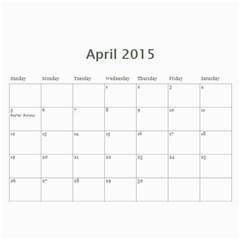 Lorraine  By Bonnie Benham   Wall Calendar 11  X 8 5  (12 Months)   5rb8zn8abmy4   Www Artscow Com Apr 2015