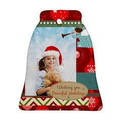 Xmas By Xmas4   Bell Ornament (two Sides)   7kqn8m240hy5   Www Artscow Com Back