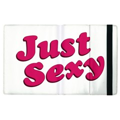 Just Sexy Typographic Quote002 Apple Ipad 3/4 Flip Case by dflcprints