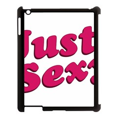Just Sexy Typographic Quote002 Apple Ipad 3/4 Case (black) by dflcprints