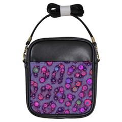 Florescent Cheetah Girl s Sling Bag by OCDesignss