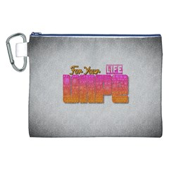 Vape For Your Life Abstract  Canvas Cosmetic Bag (xxl) by OCDesignss