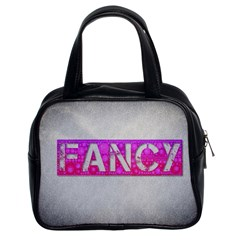 Fancy Abstract  Classic Handbag (two Sides) by OCDesignss