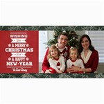 Christmas Sentiments III Card No. 01 - 4  x 8  Photo Cards