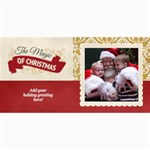 Christmas Sentiments III Card No. 02 - 4  x 8  Photo Cards
