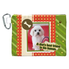 Pet By Pet    Canvas Cosmetic Bag (xxl)   Zfob76clshz4   Www Artscow Com Front