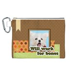 pet - Canvas Cosmetic Bag (Large)