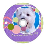 pet - CD Wall Clock