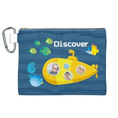 Kids By Kids   Canvas Cosmetic Bag (xl)   Suci4xlof4hx   Www Artscow Com Front