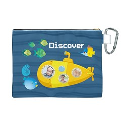 Kids By Kids   Canvas Cosmetic Bag (xl)   Suci4xlof4hx   Www Artscow Com Back