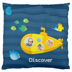 Kids By Kids   Large Flano Cushion Case (two Sides)   L5cmkjnfrf8b   Www Artscow Com Front