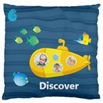 kids - Large Flano Cushion Case (One Side)