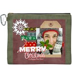 christmas - Canvas Cosmetic Bag (XXXL)