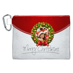 Xmas By Mac Book   Canvas Cosmetic Bag (xxl)   Wo3h7bf4lfr9   Www Artscow Com Front