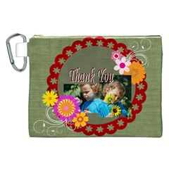 Kids Thank  By Jacob   Canvas Cosmetic Bag (xxl)   Czqkv8arqb9p   Www Artscow Com Front