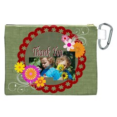 Kids Thank  By Jacob   Canvas Cosmetic Bag (xxl)   Czqkv8arqb9p   Www Artscow Com Back