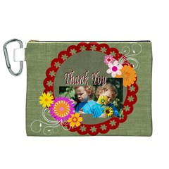Kids Thank  By Jacob   Canvas Cosmetic Bag (xl)   Ooewhlqinwsl   Www Artscow Com Front