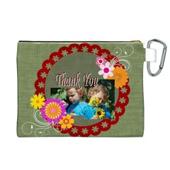 Kids Thank  By Jacob   Canvas Cosmetic Bag (xl)   Ooewhlqinwsl   Www Artscow Com Back