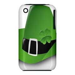Irish Shamrock Hat152049 640 Apple iPhone 3G/3GS Hardshell Case (PC+Silicone) by Colorfulart23