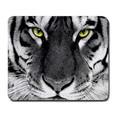 Tiger Eyes Large Mouse Pad (Rectangle) by KattsKreations