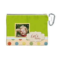 Kids Thank  By Jacob   Canvas Cosmetic Bag (large)   El1eiofo2q2x   Www Artscow Com Back