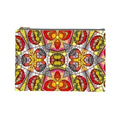 Crazy Lip Abstract Cosmetic Bag (large) by OCDesignss