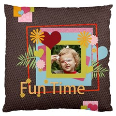 Xmas By Jacob   Large Flano Cushion Case (two Sides)   Dfcupatvha8f   Www Artscow Com Back