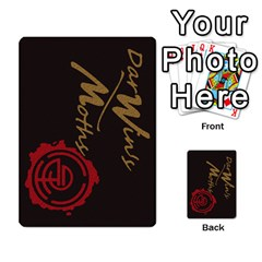 Darwin By Mikel Andrews   Multi Purpose Cards (rectangle)   Xc6mxxv8kq62   Www Artscow Com Back 54