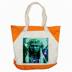 Magical Indian Chief Accent Tote Bag by icarusismartdesigns