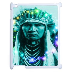 Magical Indian Chief Apple Ipad 2 Case (white) by icarusismartdesigns