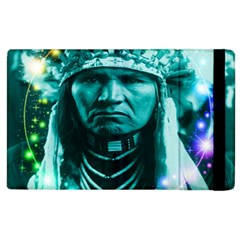 Magical Indian Chief Apple Ipad 3/4 Flip Case by icarusismartdesigns