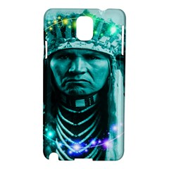 Magical Indian Chief Samsung Galaxy Note 3 N9005 Hardshell Case by icarusismartdesigns