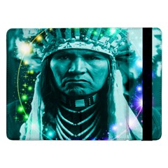 Magical Indian Chief Samsung Galaxy Tab Pro 12 2  Flip Case by icarusismartdesigns