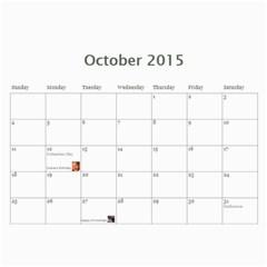 2015 By Vanessa Janzen   Wall Calendar 11  X 8 5  (12 Months)   0mc3x1jdjxhr   Www Artscow Com Oct 2015