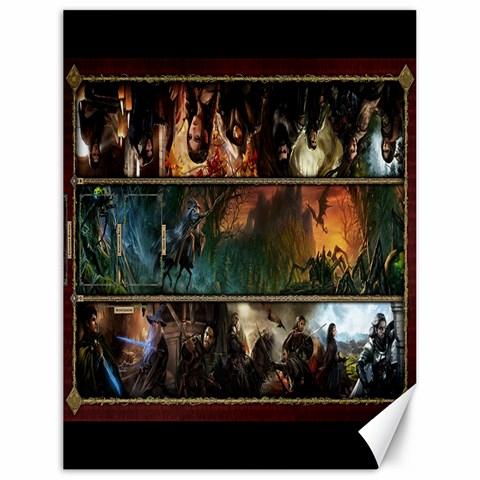 Lotr Play Mat1 By Pauli Vinni   Canvas 18  X 24    65f6tl3wosxr   Www Artscow Com 24 x18 Canvas - 1