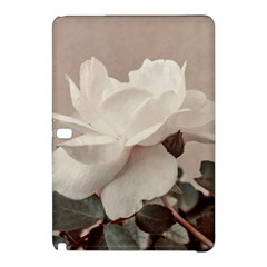 White Rose Vintage Style Photo In Ocher Colors Samsung Galaxy Tab Pro 10 1 Hardshell Case by dflcprints