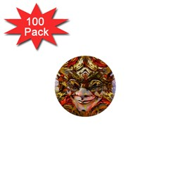 Star Clown 1  Mini Button (100 pack) by icarusismartdesigns
