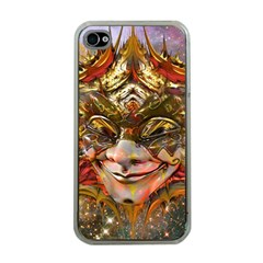 Star Clown Apple Iphone 4 Case (clear) by icarusismartdesigns