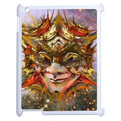 Star Clown Apple iPad 2 Case (White) by icarusismartdesigns