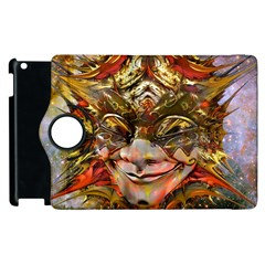 Star Clown Apple Ipad 3/4 Flip 360 Case by icarusismartdesigns