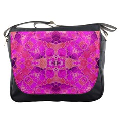 Beautiful Pink Coral  Messenger Bag by OCDesignss