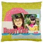 kids - Large Flano Cushion Case (Two Sides)