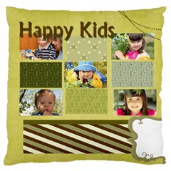 Kids By Kids   Large Flano Cushion Case (two Sides)   Ob33dpgt995u   Www Artscow Com Back